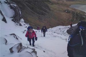 Mountaineering North Wales