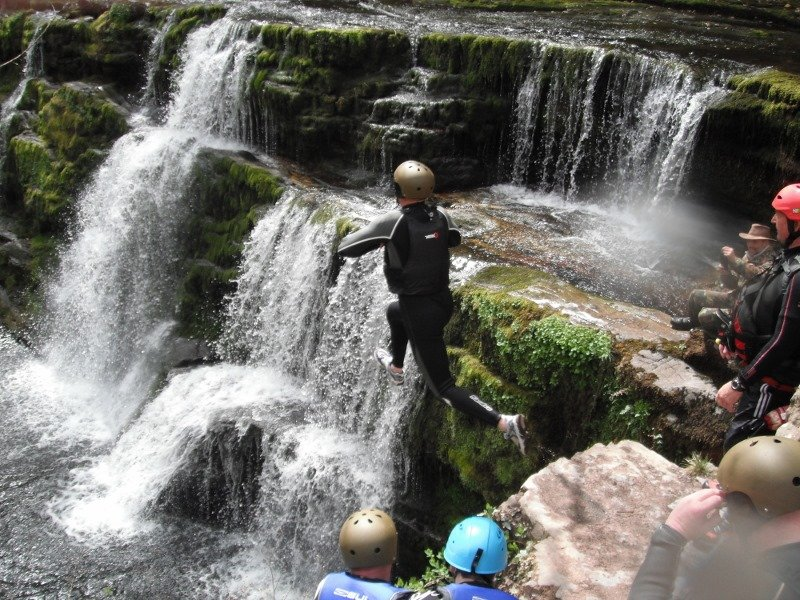 Gorge Walking Brecon