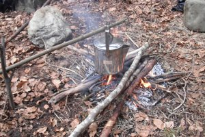 Bushcraft Boiling Water